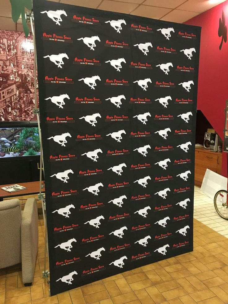 Calgary Stampeders fabric wall