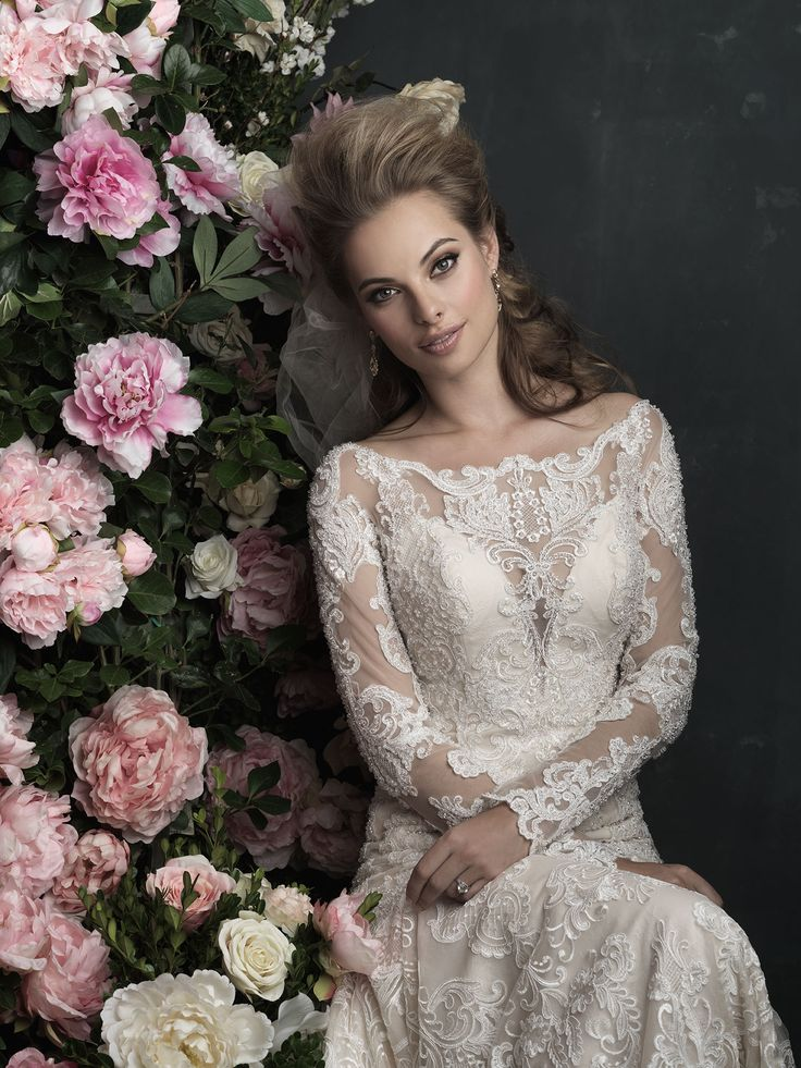 Trending The Allure Couture Collection can be found at Bellevue Bridal Boutique Dolce Bleu Pearls and Lace and The Wedding Bell