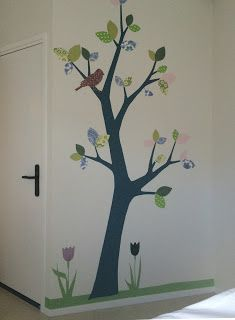 Inke Blog: INKE behangboom 3 Langeland Ziekenhuis / verloskamer  #behangboom #wallpapertree #tapetenbaum (inkel.nl)