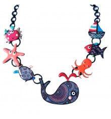 Collier baleine Whally, Lol bijoux