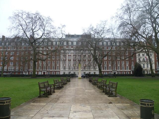 Grosvenor Square. In London, UK.