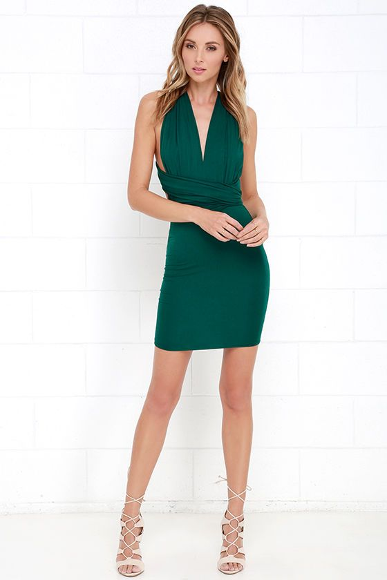 17 Best ideas about Forest Green Dresses on Pinterest  Forest ...