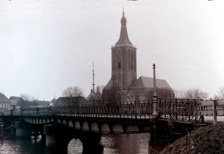 de oude brug van Hasselt Overijssel