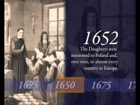 Brief History of the Daughters of Charity