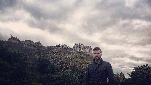 Παναγιώτης Ραφαηλίδης: Δείτε φωτογραφίες από το ταξίδι του στο Εδιμβούργο