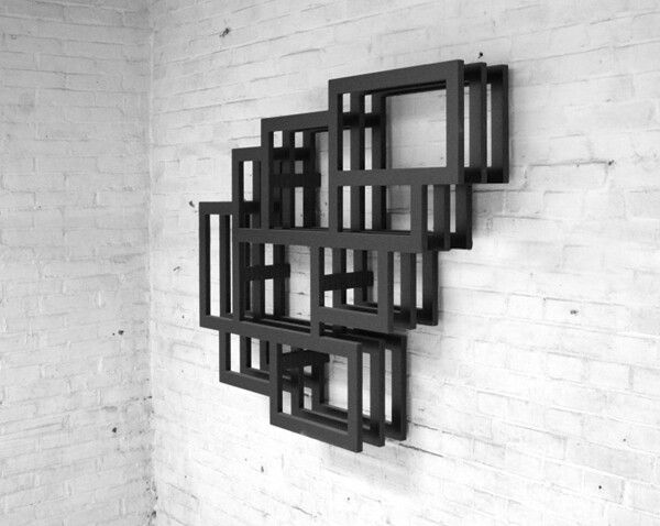 Frames Wall By Gerard De Hoop, Book Shelves