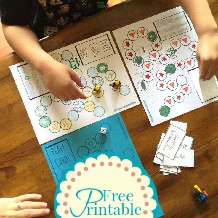 Free Printable ~ Game Creator - Twitchetts