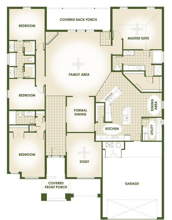 Best Floor Plans Images On Pinterest Home Plans Architecture - Mitchell homes floor plans