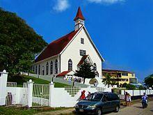 Iglesia Bautista Emmanuel, built in La Loma in 1847.
