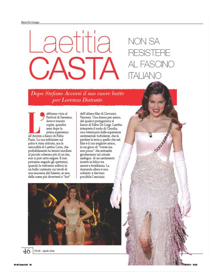 Laetitia Casta su STAR