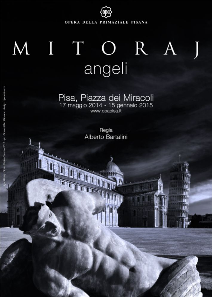 "Igor Mitoraj a Pisa. La mostra ""Angeli"" prorogata fino al 14 aprile 2015"