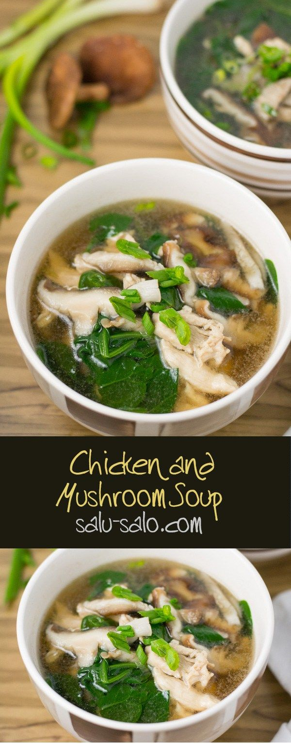 Chicken and Mushroom Soup