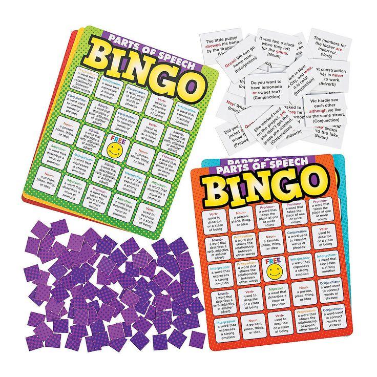 Parts+of+Speech+Premium+Bingo+-+Learn365.com