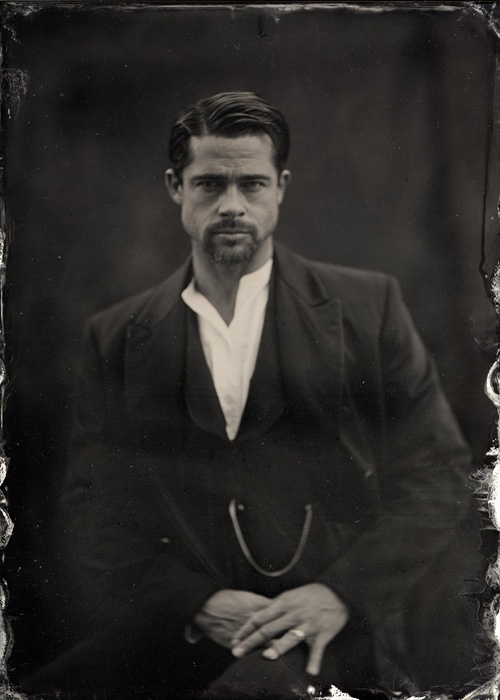 Brad Pitt for The Assassination of Jesse James by the Coward Robert Ford (2007)