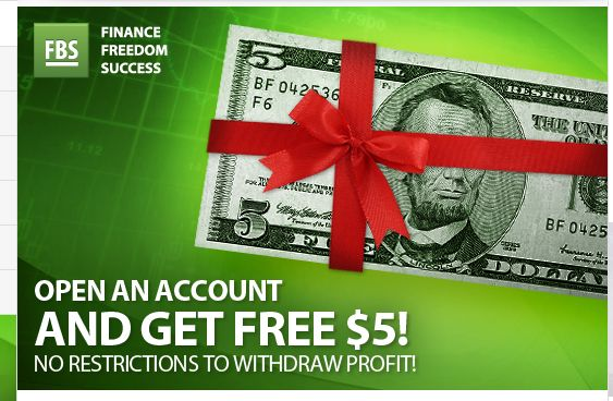 "FBS get FREE 5 USD Bonus -Forex No Deposit Bonus  1)Open Micro Account :-FBS get FREE 5 USD Bonus Account Verify your account Connect your Facebook profile to your FBS Personal Area ""Like"" official Facebook page of : FBS Markets Inc Click on ""Get 5 USD Bonus"" in your Personal Area"