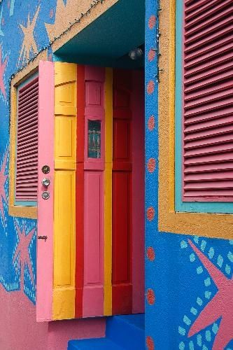 Barbados : most buildings/homes have very vivid colors. love it! http://www.travelbrochures.org/198/north-america/the-beautiful-land-of-barbados