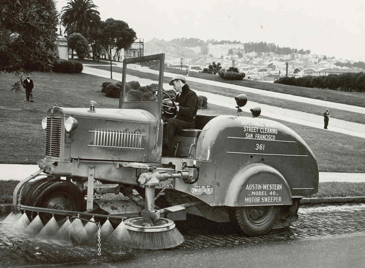 First Street Sweeper History Of Sweeping Pinterest