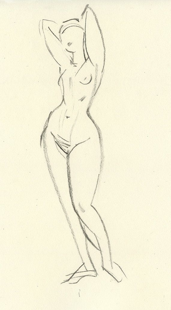 Authoritative nude figure sketch inquiry