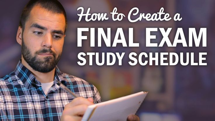 4:45 shows the actual schedule advice i was looking for || How to Make a Final Exam Study Schedule - College Info Geek