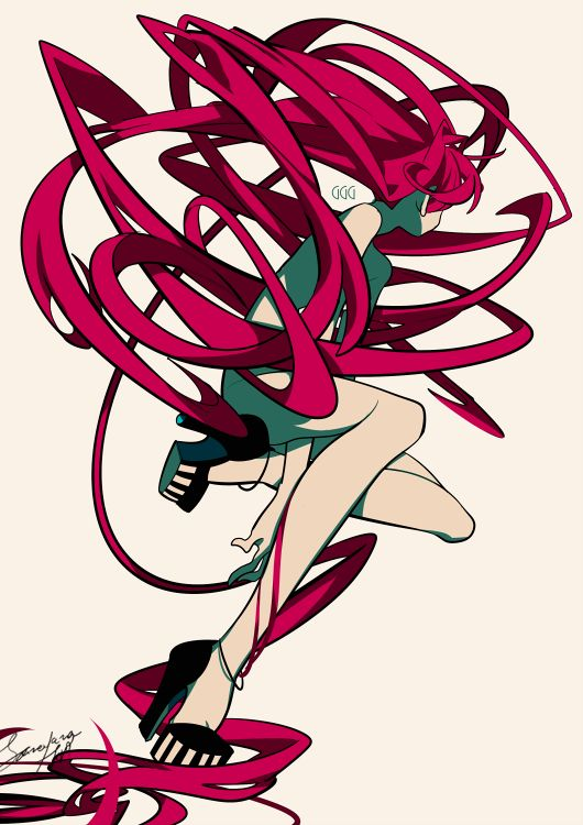Cartoon Characters With Purple Hair : Best images about anime and other arts on pinterest