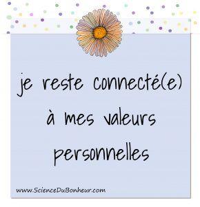 Votre capacité à respecter vos valeurs personnelles est un facteur déterminant dans votre épanouissement. Découvrez le 2ème pilier d'une vie équilibrée : http://sciencedubonheur.com/se-connecter-a-valeurs-personne… Photo de Science du bonheur.