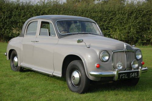Rover 60 (1955) Maintenance/restoration of old/vintage vehicles: the material for new cogs/casters/gears/pads could be cast polyamide which I (Cast polyamide) can produce. My contact: tatjana.alic@windowslive.com
