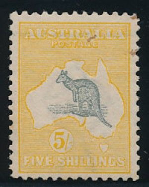 Australia stamp (AULIA). VERY FINE. Scott Catalog Value: $2,000. Stock #323426 - #philately