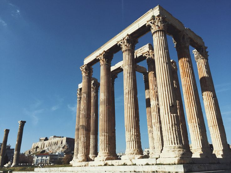 Temple of Zeus - Athens, Greece