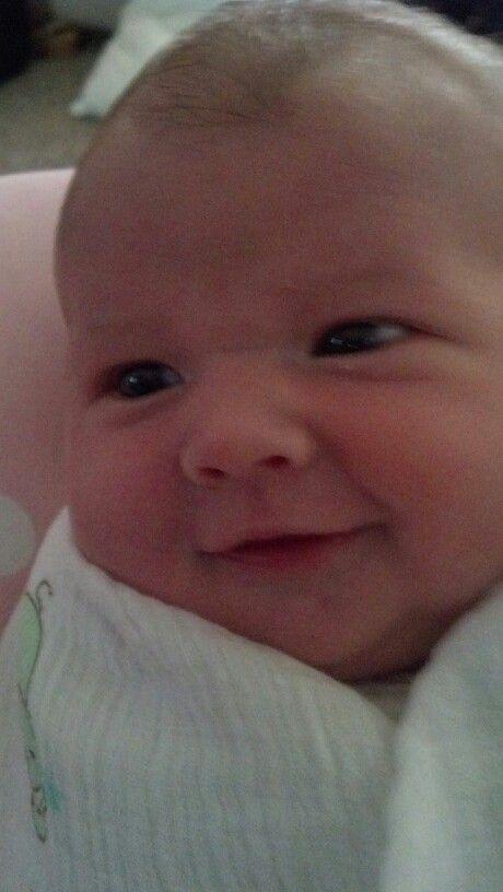 PJ smile 2 weeks
