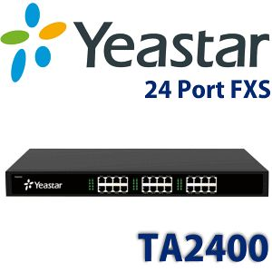 Yeastar TA2400 FXS Gateway - http://www.vdsae.com/product/yeastar-ta2400-fxs-gateway/