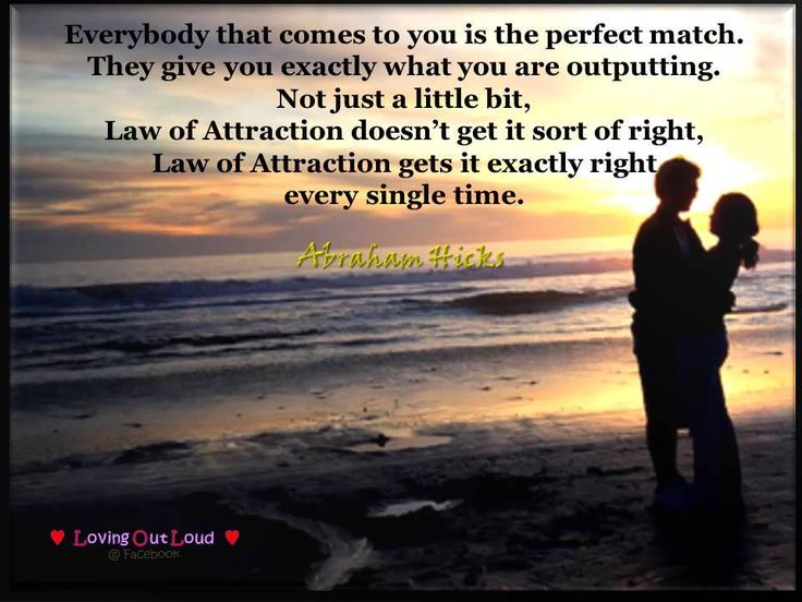 Vibrational Matchmaking with the Law of Attraction
