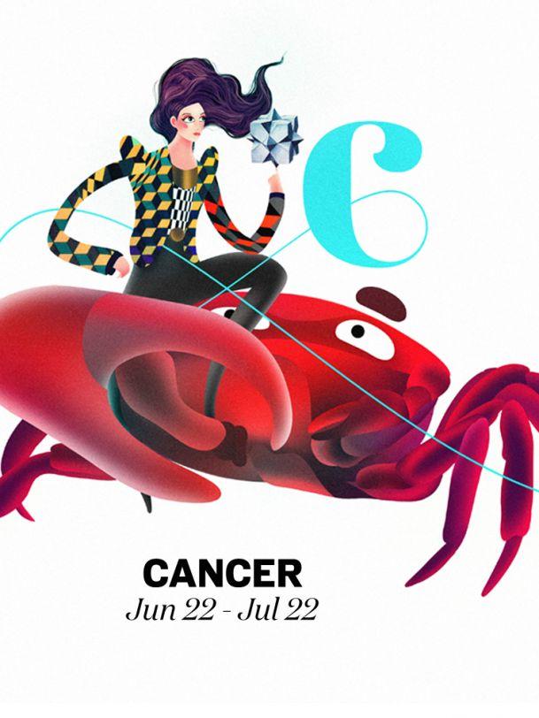 709 best horoscope zodiac signs images on pinterest for Cancer horoscope elle