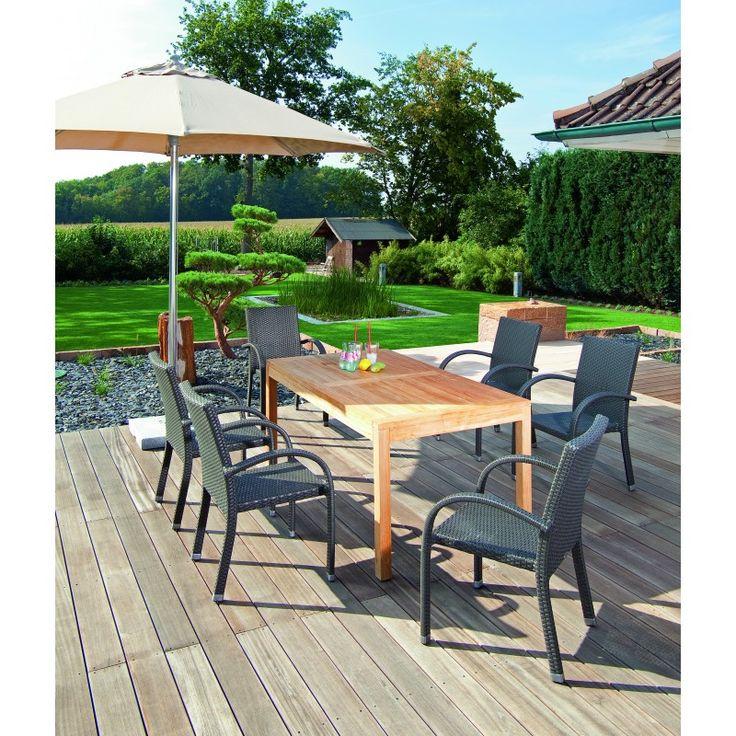 Gartenmobel Holz Tschechien :  Polyrattan Gartenmöbel op Pinterest  Gartenmoebel, Polyrattan en