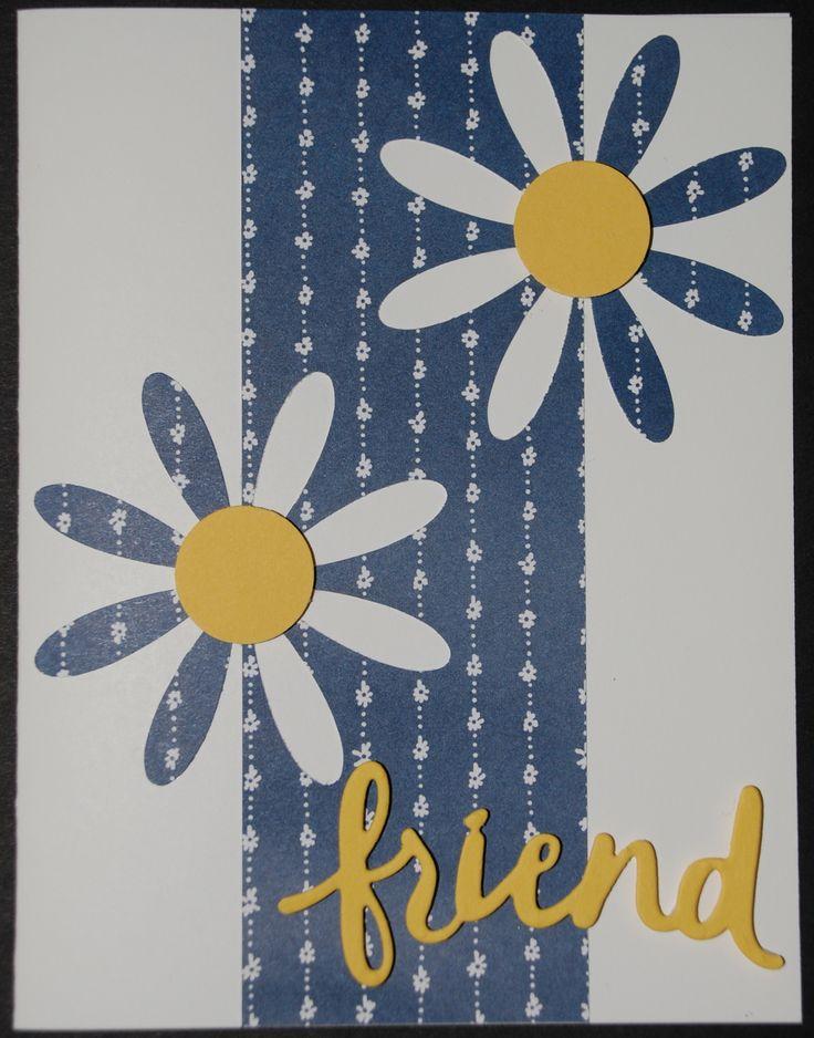 Объемные открытки с ромашками
