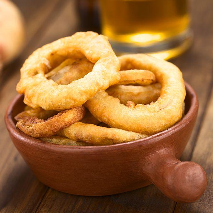 Recette de rondelles d'oignon à la panure de bière selon Bob le Chef
