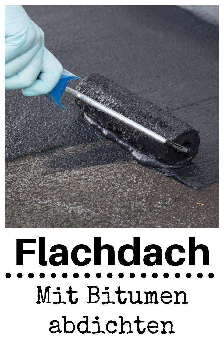 Flachdach abdichten