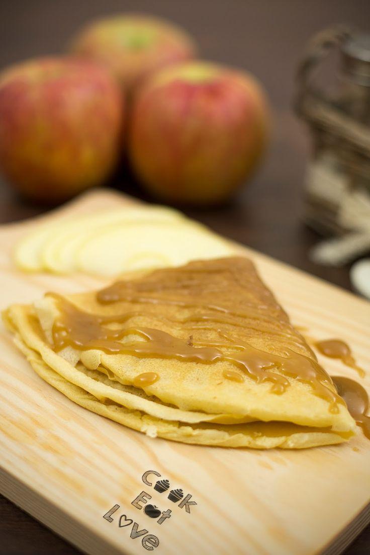 Crepes com Maçã e Butterscotch - Cook Eat Love