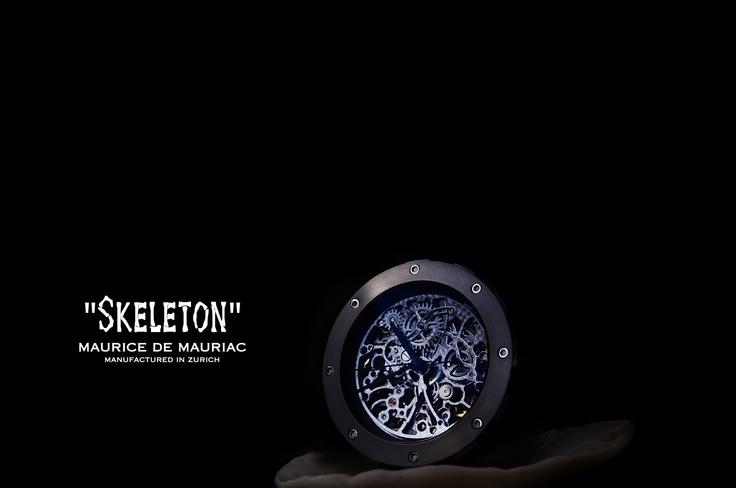 """SKELETON"" by Maurice de Mauriac Presentation: www.roccavision.com"
