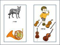 Το μουσικό παραμύθι ο Πέτρος και ο Λύκος για τα παιδιά στο νηπιαγωγείο.ένας ευχάριστος τρόπος για να εισάγουμε τα μικρά παιδιά στα μουσικά όργανα και την κλασσική μουσική.