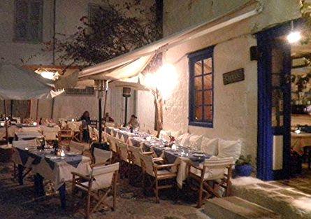 Caprice Restaurant Hydra Island Greece - Caprice Italian restaurant in Hydra - Hydra Restaurant Guide
