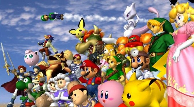 Super Smash Bros Melee recreated in retro style on the PC and is playable right now in your browser