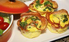 Trouxinhas de omelete e peito de peru: receita light para fazer no micro-ondas - Receitas - GNT