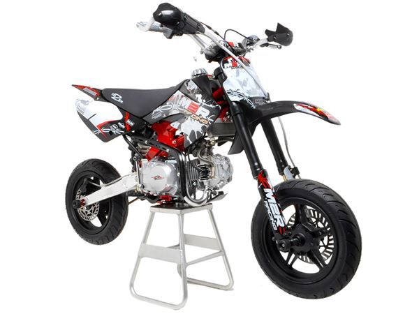 M2R Racing KM140SM 140cc Petrol 82cm Supermoto Pit Bike