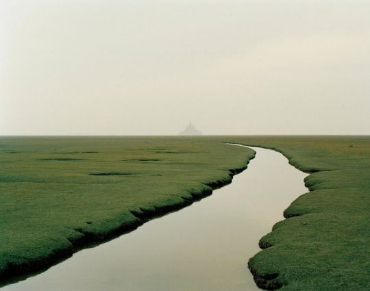 Mont Saint-Michel, Normandy, France 2002 by Nadav Kander
