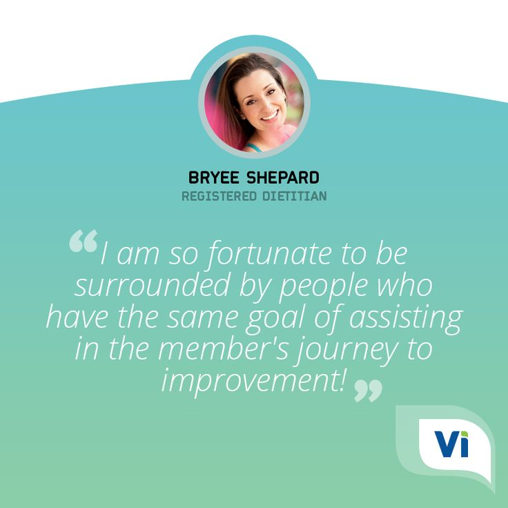 The people of Vivante Health truly make this company amazing. I am so fortunate to be surrounded by people who have the same goal of assisting in the member's journey to improvement! - Bryee Shepard, MS RD of Tasteful Wisdom is a member of our care team!