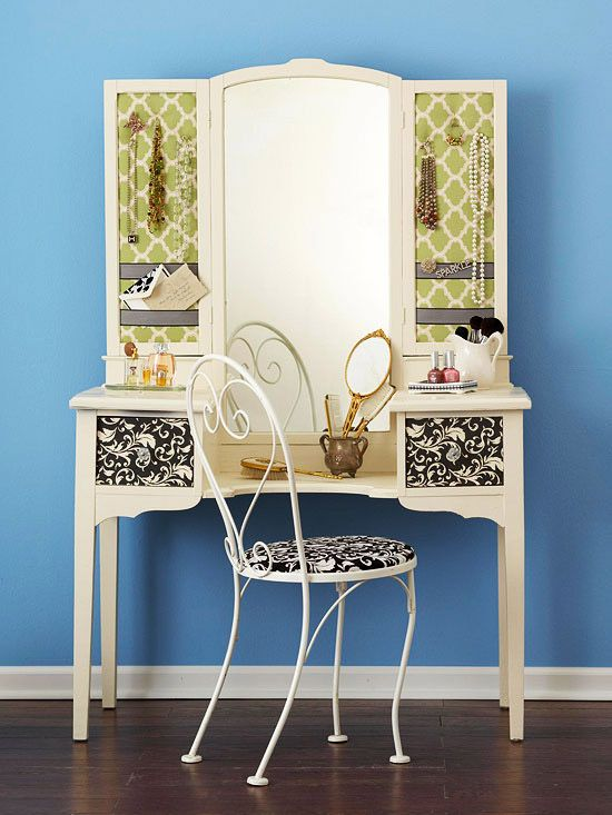208 best diy home: desks/vanities images on pinterest