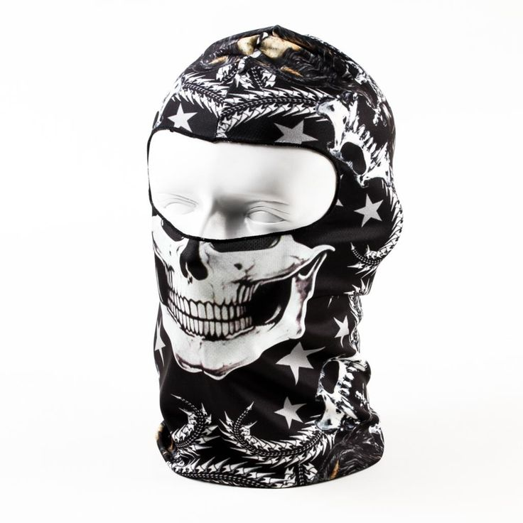 2016 New Hot Sale 3D Skull Ski Hood Hat Balaclava Full Face Mask Outdoor Sports Bicycle Cycling Motorcycle Masks BB27 //Price: $US $4.06 & FREE Shipping //     #woman