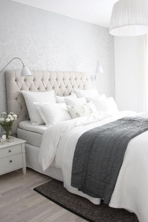 Love the headboard and bed