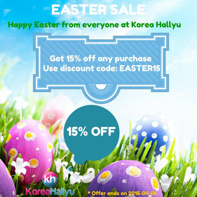 Easter Sale Korea Hallyu 2015 Coupon Code