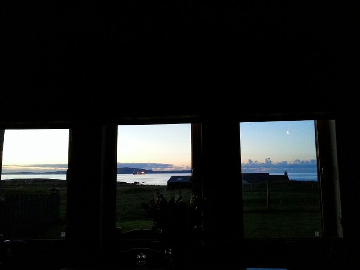 The longest day from one window at Ocraquoy